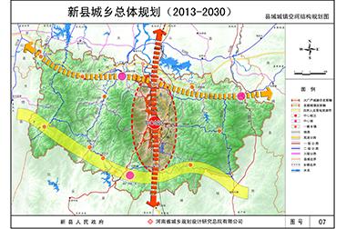 新县城乡总体规划(2013-2030)